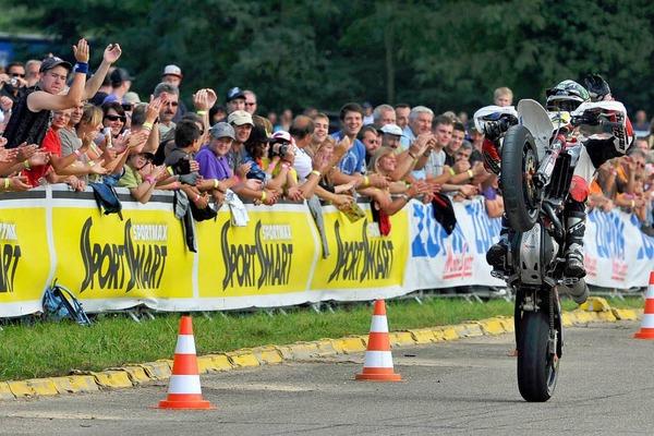 Supermoto-Rennen in Bremgarten