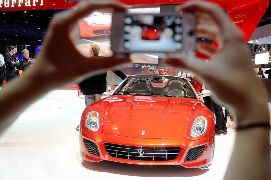 Ferrari SA Aperta (Foto: dpa)