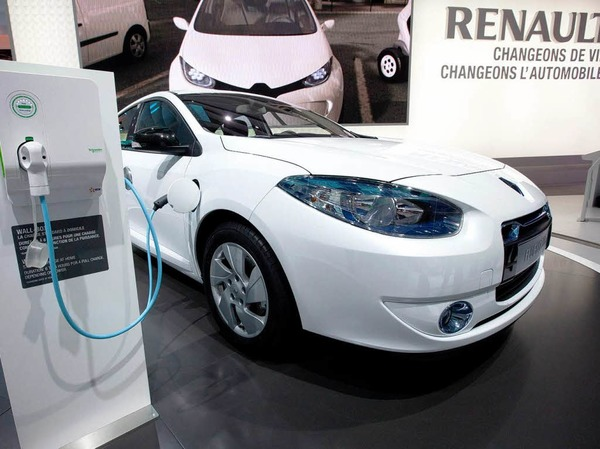 Renault-Elektroauto Fluence ZE