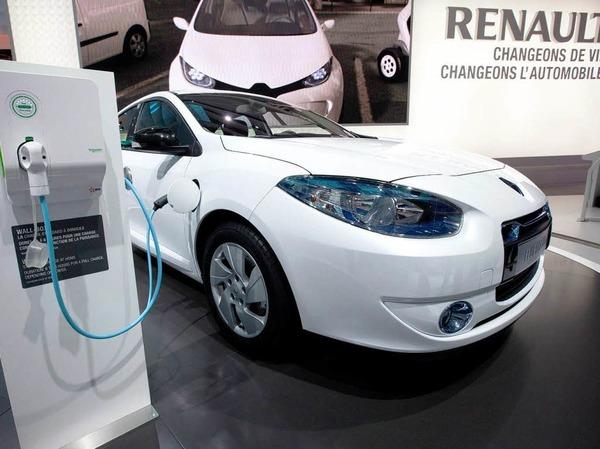 Renault-Elektroauto Fluence ZE