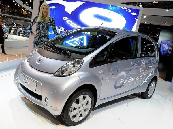Elektroauto Ion von Peugeot