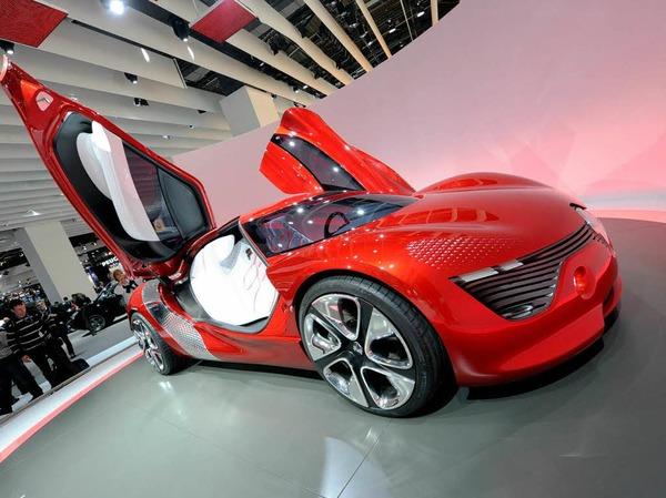 Renault-Elektrostudie DEZIR