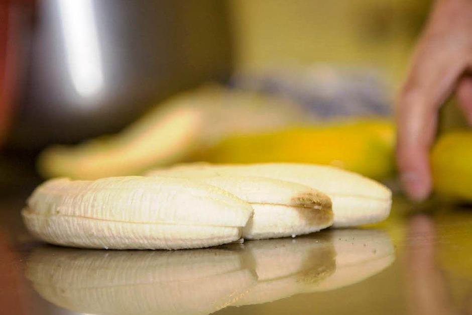 Keine Jamaikatorte ohne Bananen... (Foto: Dominic Rock)