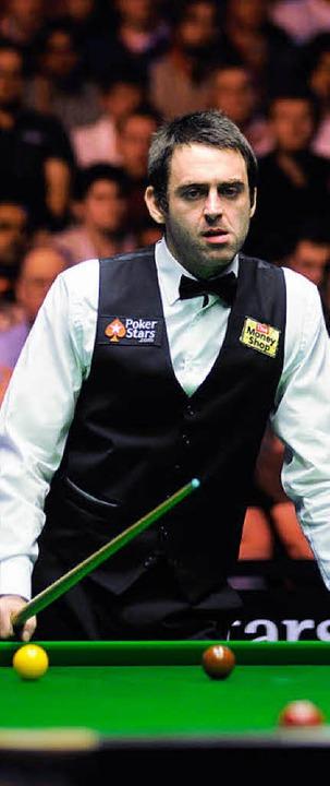 Dreifacher Snooker-Weltmeister:  Ronnie O'Sullivan.  | Foto: Messe