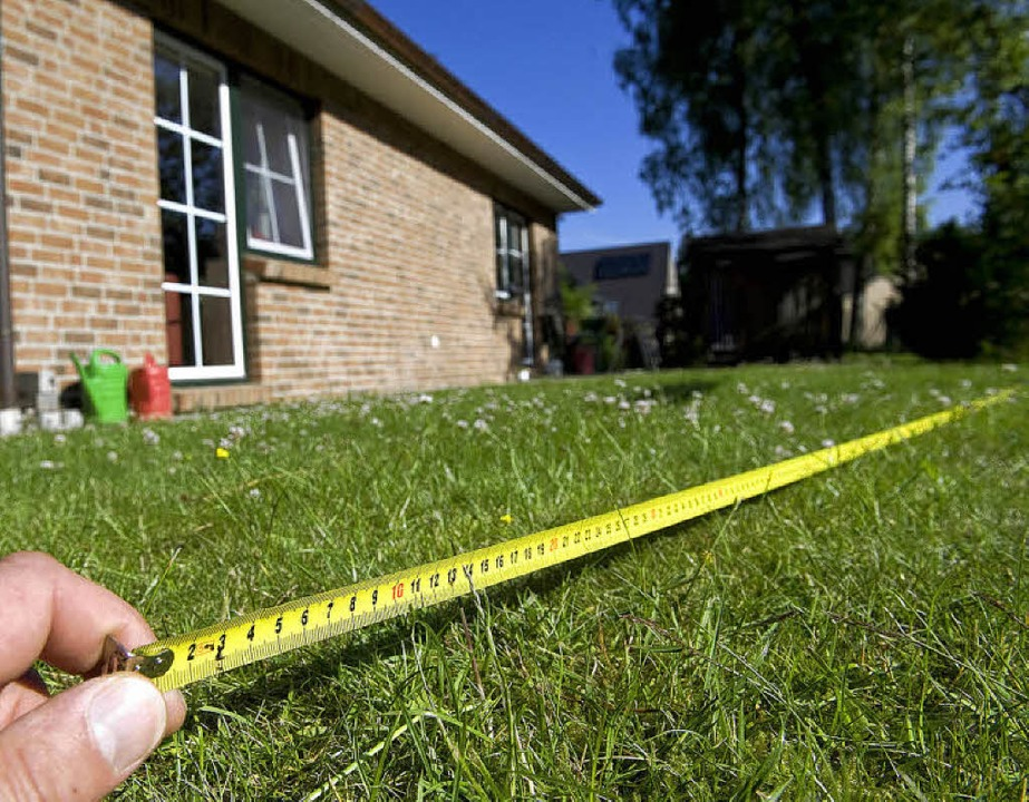 So besser nicht: Eine Grundstücksteilu...ndern nur vom Amt vorgenommen werden.   | Foto: Jens Schierenbeck/dpa/tmn
