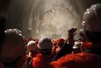Fotos: Gotthard-Tunnel – der Durchstich ist geschafft