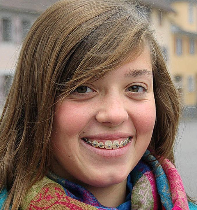 Leoni Pfaff, 14 Jahre, aus Ettenheimmü...h mir die Hände noch öfter als andere.  | Foto: Heidi Hoffmann