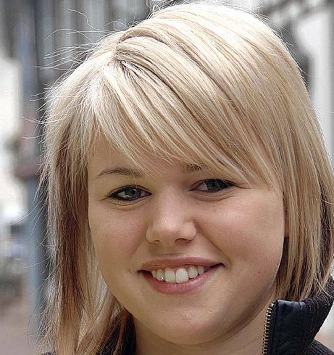 Jenny Göppert, 19 Jahre, aus Dörlinbac...ewaschen ist bei mir ein großes Thema.  | Foto: Heidi Hoffmann