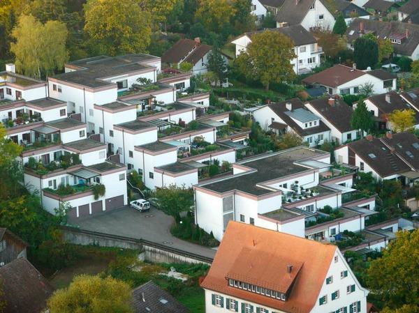 Terassenhäuser und noch ein Eckchen vom Mühlenmuseum