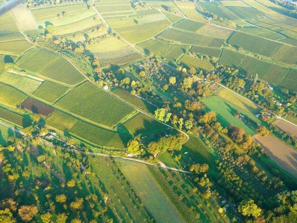 Markgräflerland von oben