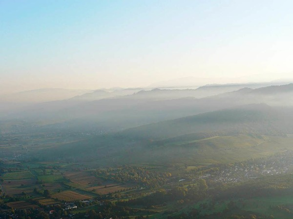 Blick über Niederweiler auf den Innerberg