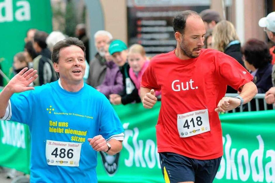 Der Stadtlauf in Ettenheim