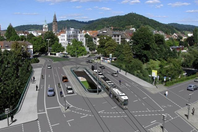 Stadt präsentiert Entwurf der neuen Kronenbrücke