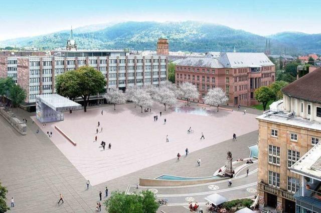 Siegerentwurf: Kontrast zum Stadtkern