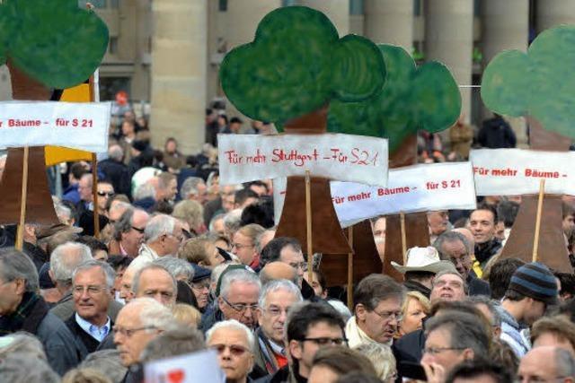 Stuttgart 21 macht Tausenden Beine