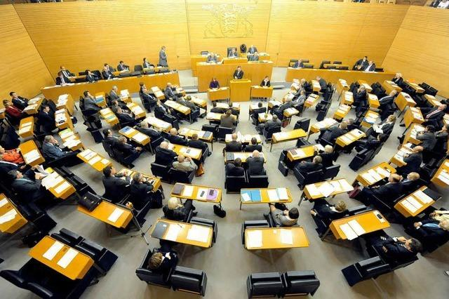Landtag lehnt Volksentscheid über Stuttgart 21 ab