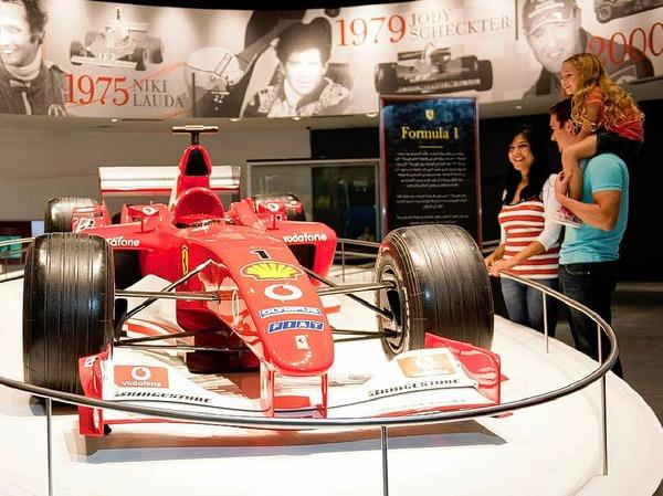 Der Ferrari F1-2000