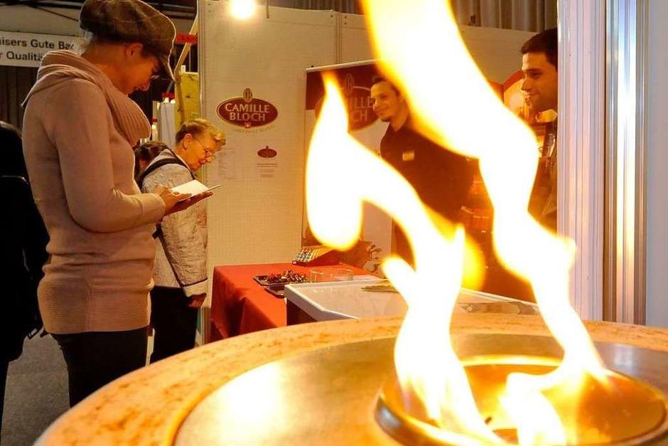 Feuer und Flamme für Delikates (Foto: Michael Bamberger)