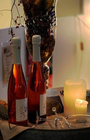 Stilleben mit Wein