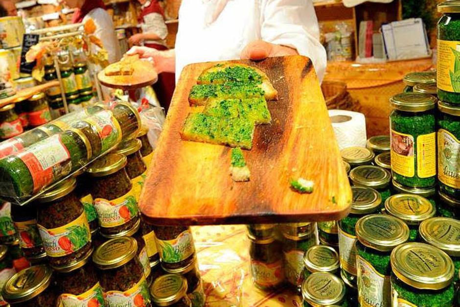 Pesto aus Rucola (Foto: Rita Eggstein)
