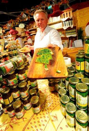 Pesto aus Rucola