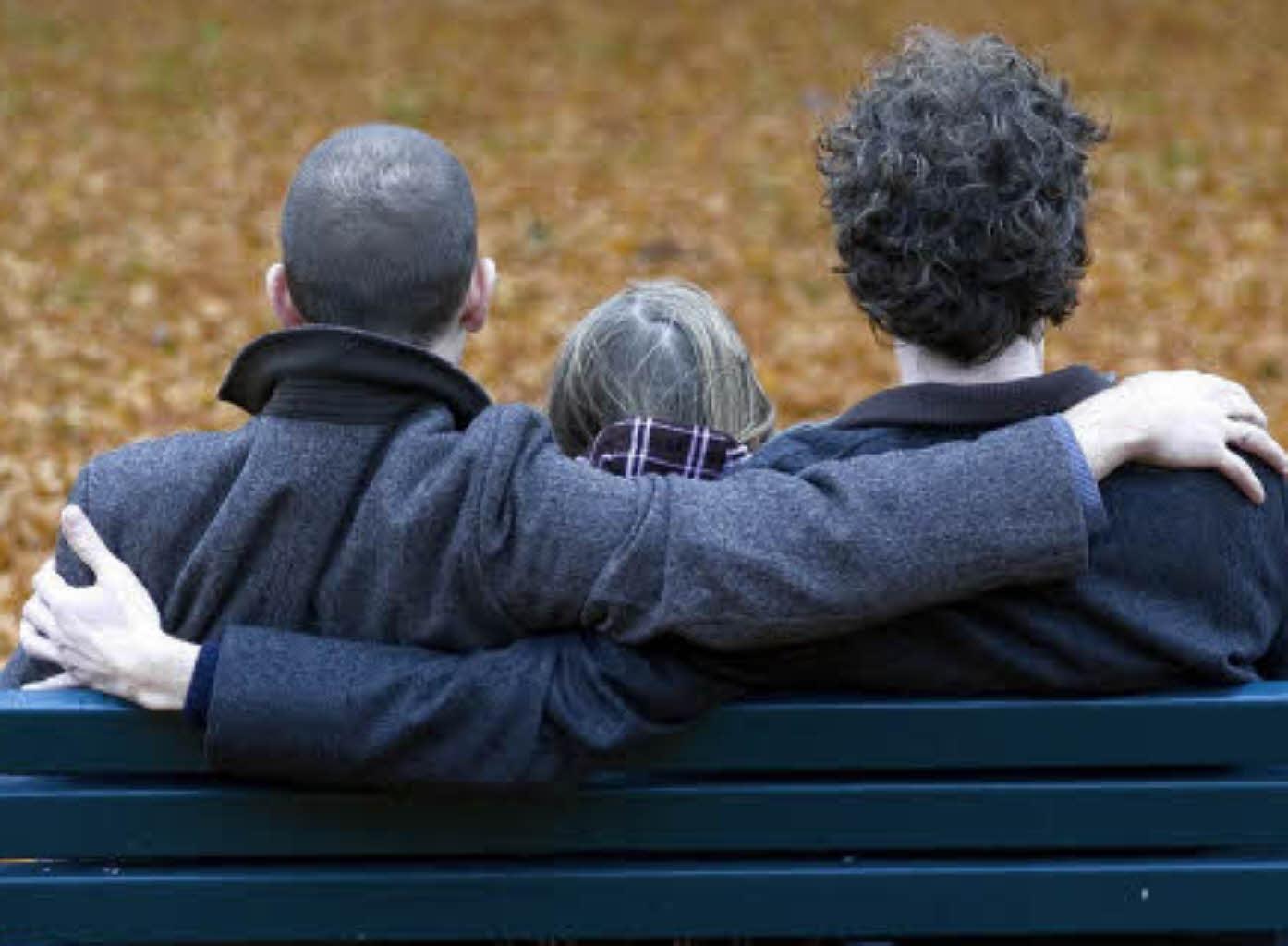 Immer mehr familien mit zwei müttern oder vätern