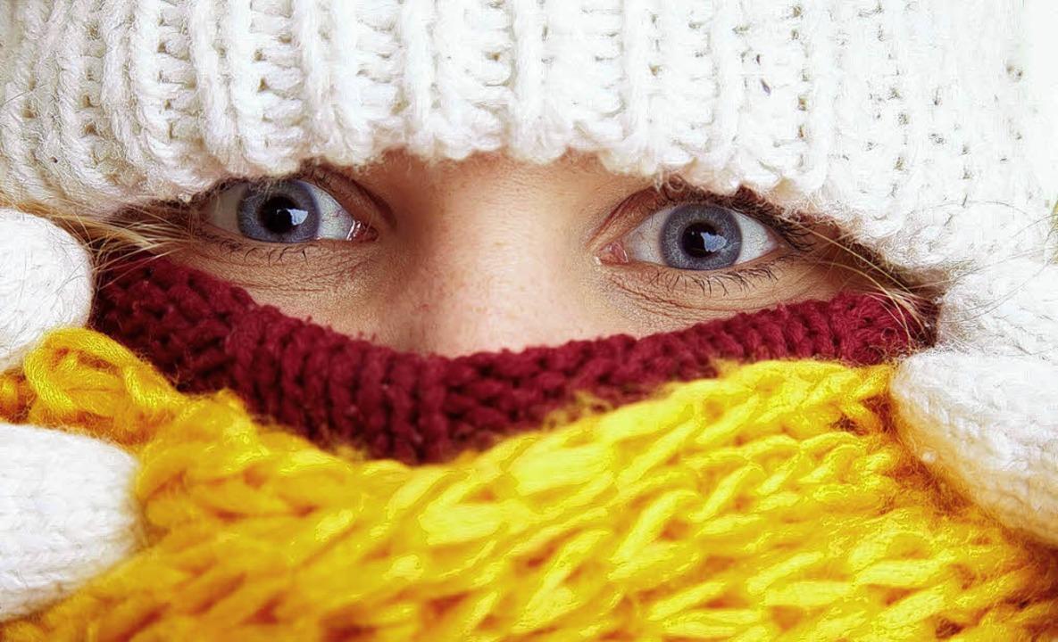Immer noch der beste Kälteschutz: warme Kleidung   | Foto: fotolia