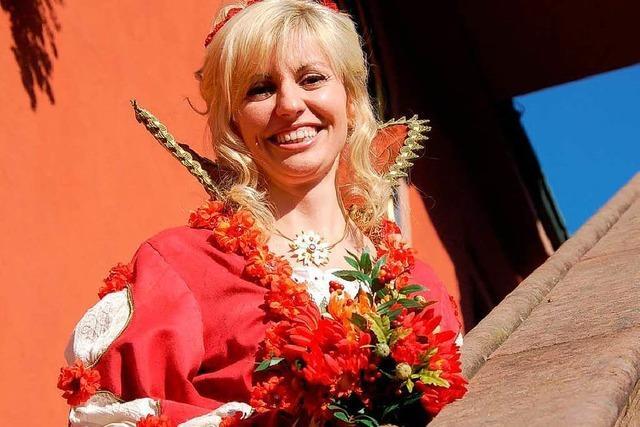 Fotos: Chrysanthemenkönigin Nathalie I.