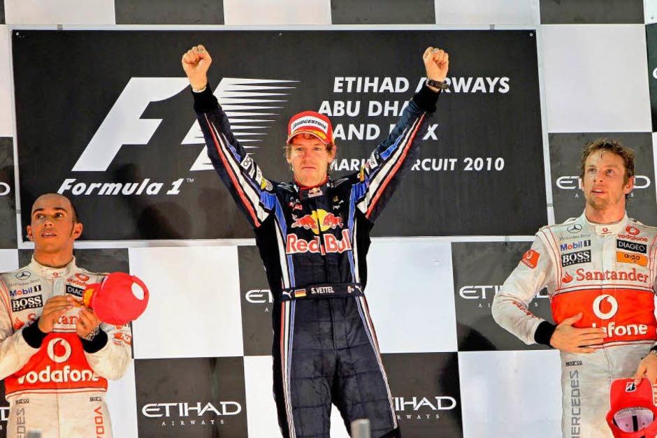 Sebastian Vettel ist neuer Formel-1-Weltmeister. (Foto: dpa)