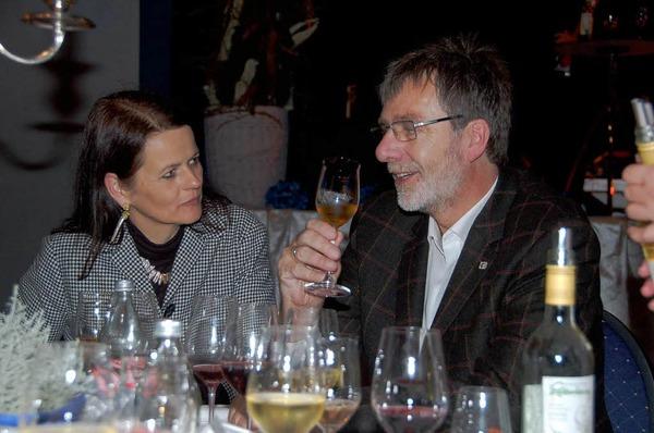 Essen, Trinken, Tanzen und gute Gespr�che beim Martini-Abend in Ettenheim.
