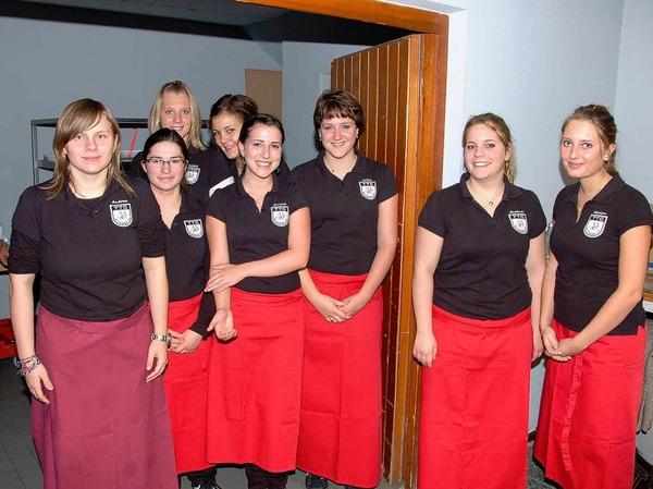 Das Service-Team des TTC Altdorf.