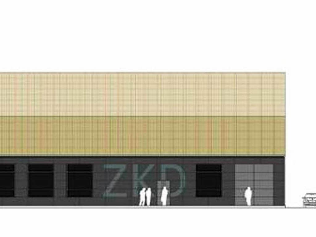 freiburg spatenstich das neue kunstdepot ein haus f r. Black Bedroom Furniture Sets. Home Design Ideas