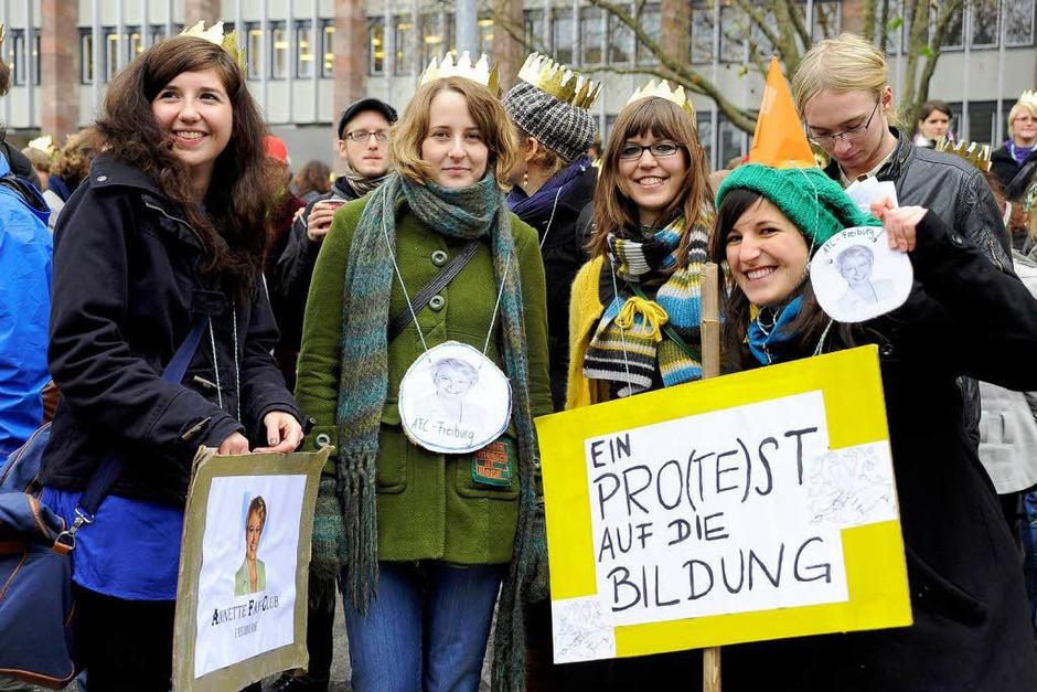 Bildungsdemo in Freiburg (Foto: Thomas Kunz)