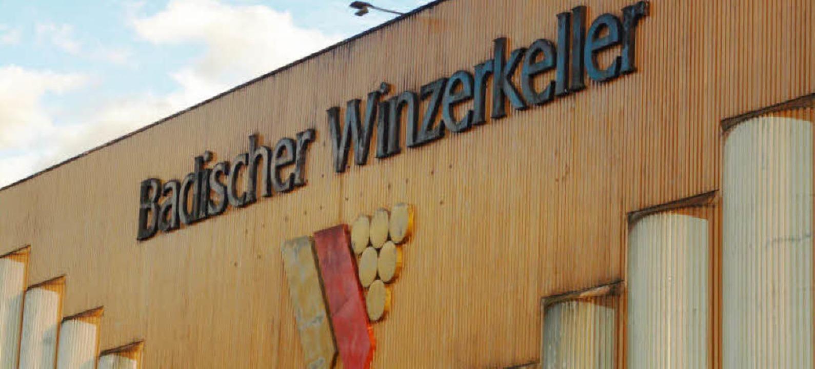Wie steht es um den Badischen Winzerke...gens WG-Vorsitzender Siegfried Ernst.   | Foto: Hans-Peter Ziesmer