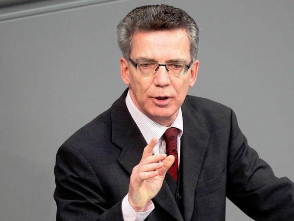 """Thomas de Maiziere: """"Der neue deutsche Innenminister hat eine steile Lernkurve vor sich"""""""