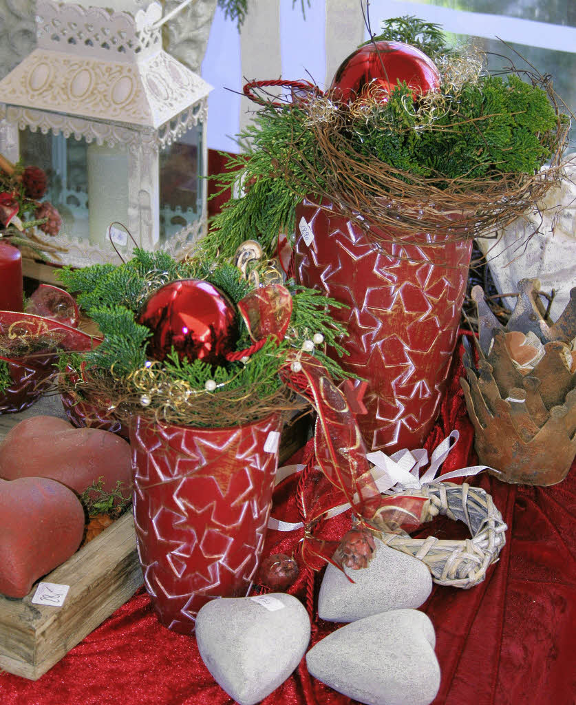 Weihnachtliche atmosph re am seeufer lahr badische zeitung for Weihnachtliche dekoration