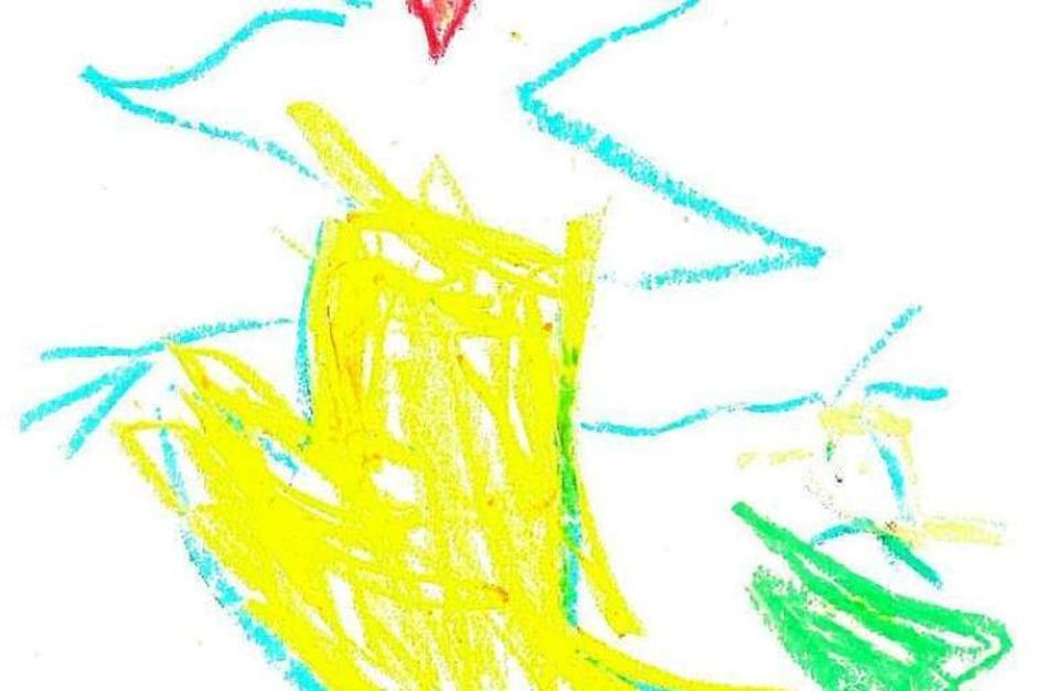Von Niclas, 4 Jahre, aus der Frösche- Gruppe (Foto: Privat)