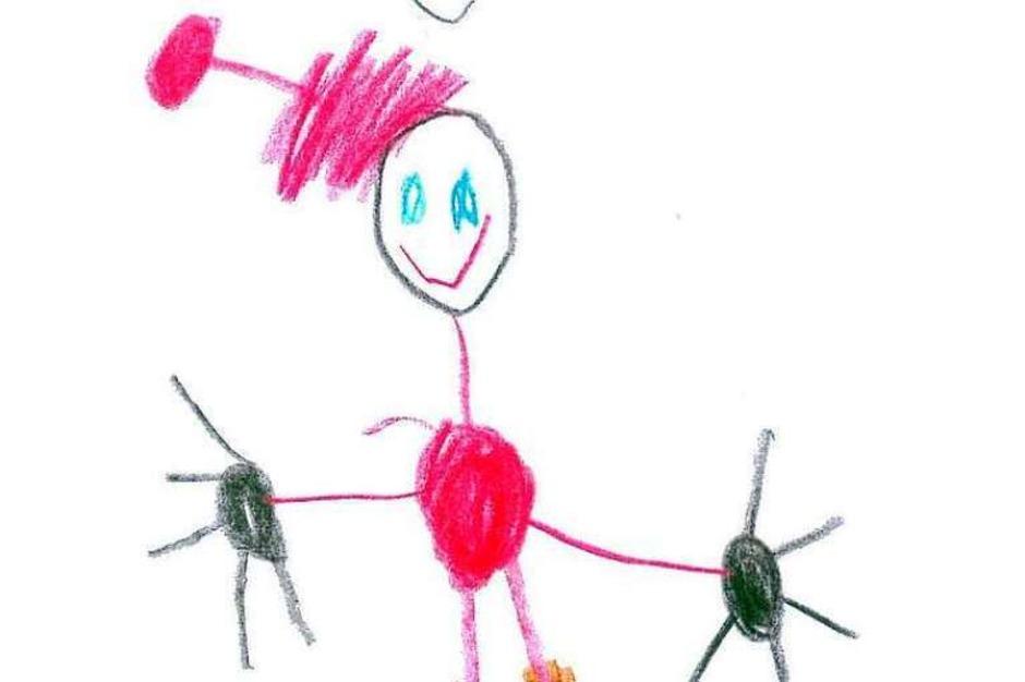 Von Giuliano, 5 Jahre, aus der Frösche-Gruppe (Foto: Privat)