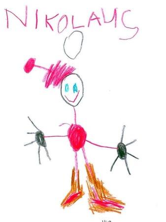 Von Giuliano, 5 Jahre, aus der Frösche-Gruppe