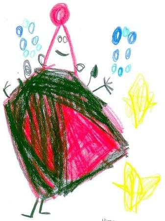 Von Davud, 4 Jahre, aus der Frösche- Gruppe