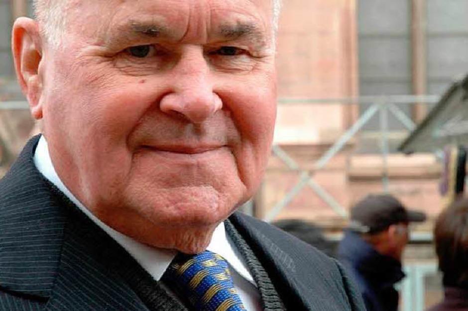 Eugen Martin starb am 15. Dezember im Alter von 84 Jahren. (Foto: Brigitte Sasse)
