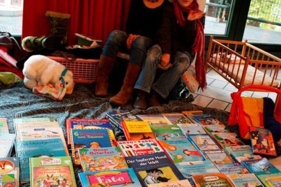 Viel los war auch bei den BZ-Kindertrödelmärkten, hier zum Beispiel in Rheinfelden. Die Standgebühr wird jeweils gespendet. (Foto: Hannah Klusmann)