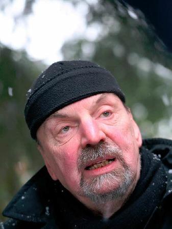 Der emeritierte Politologe Hans-Otto M�hleisen (69) hatte 30 Jahre lang nach der Statue gesucht. Sie lag sieben Jahre lang vor dem Mei�enheimer Bauhof in der Ortenau