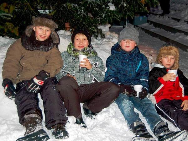Zauberhaft pr�sentierte sich Laufenburg zur grenz�berschreitenden Altstadtweihnacht.