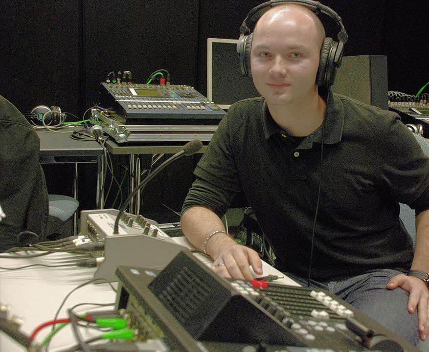 Matthias Welzel  konzipierte eine Live... Mondfinsternis am morgigen Dienstag.     Foto: siefke