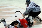 Fotos: Wölfe Freiburg verlieren Eishockey-Derby mit 4:5
