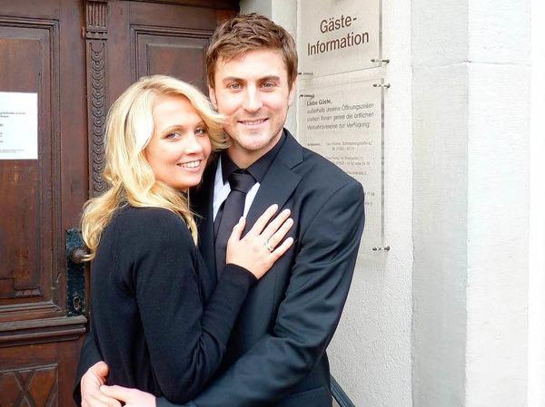 Im Januar gibt Heiko Butscher seiner Freundin  Maren das Ja-Wort.