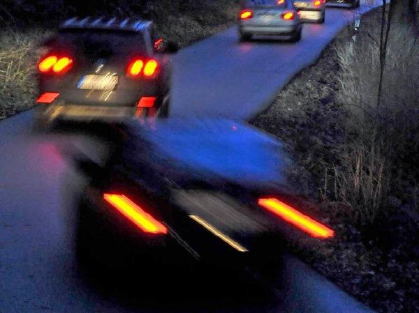 Das neue SC-Verkehrskonzept wird im Februar einem ersten Test unterzogen. Die Reaktionen bei Polizei,  Anwohnern und Natursch�tzern sind durchwachsen.