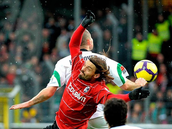 Nach der Niederlage gegen gegen Hannover 96 kommt der SC Freiburg Anfang Mrz  im Tabellenkeller an.