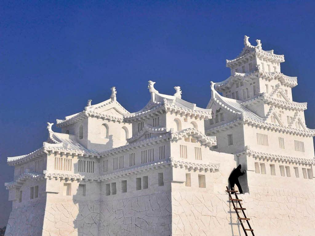 fotos eis und schneeskulpturen in china panorama. Black Bedroom Furniture Sets. Home Design Ideas